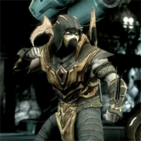 Scorpion de MK se deja ver en Injustice: Gods among Us