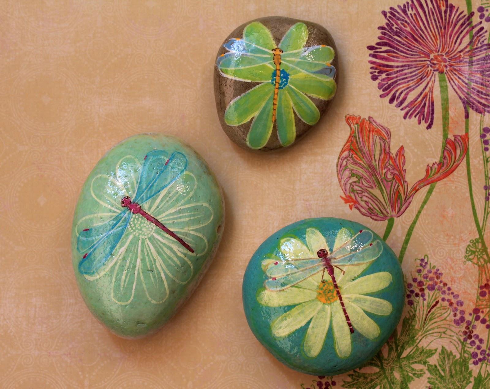 Nueve Pinceladas Pintando Piedras Ii