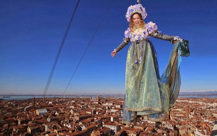 венеция полет ангела