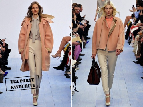 Clothes I Want To Wear: Chloé Autumn/Winter 2012 - Coco's Tea Party