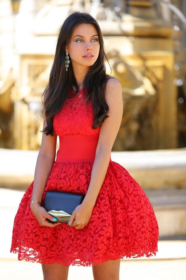 Fenomenales vestidos de fiesta elegantes