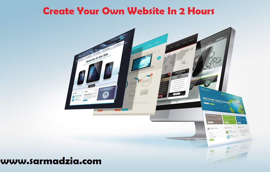 How to Create Your Own Website In 2 Hours Video Course