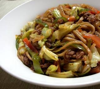 Yakissoba tradicional - Você sabe cozinhar! Acredite!
