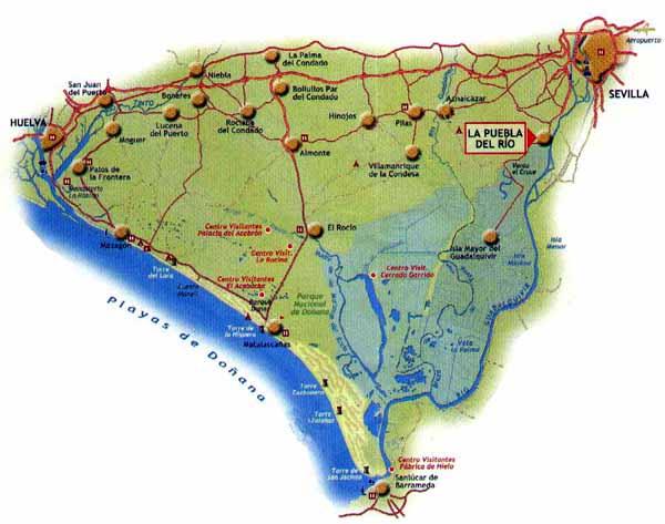 Afbeeldingsresultaat voor marismas del guadalquivir