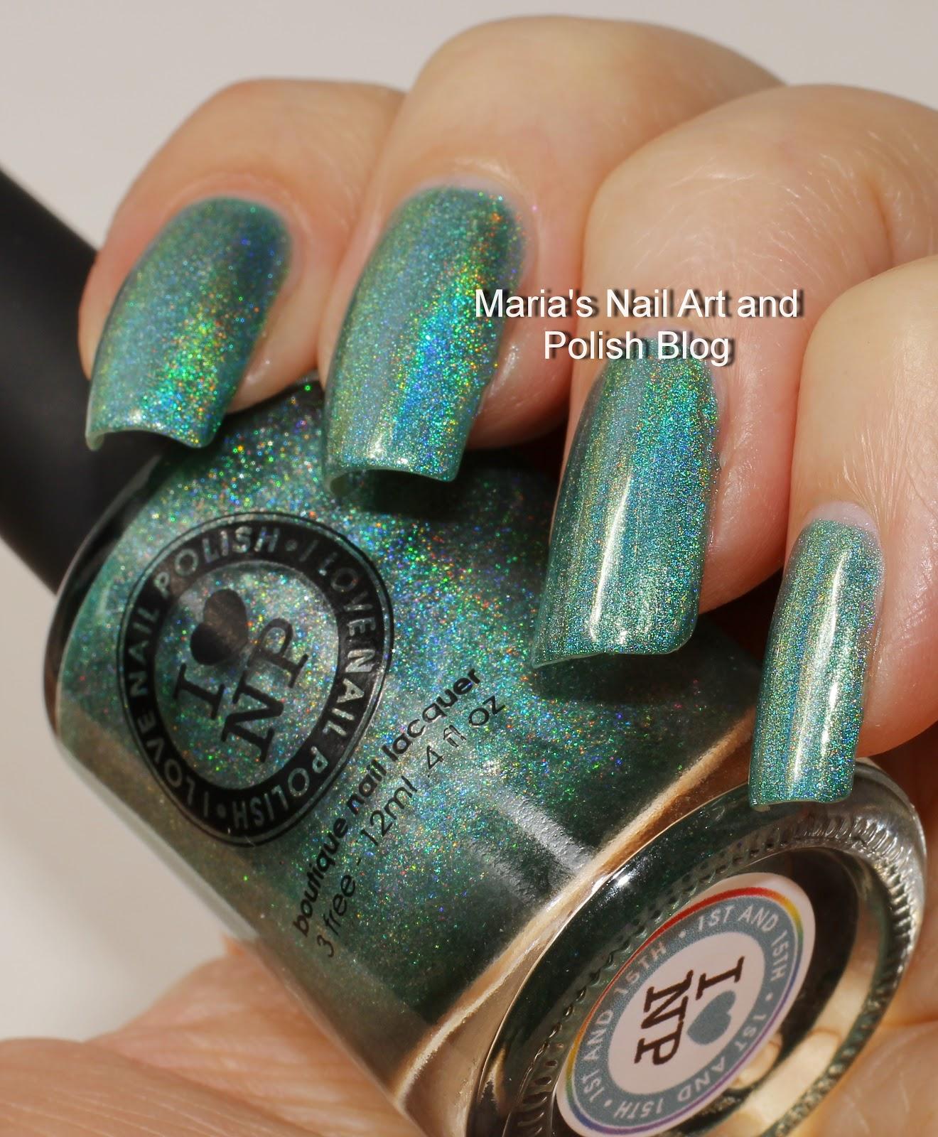 Marias Nail Art and Polish Blog: I Love Nail Polish (ILNP) 1st and ...