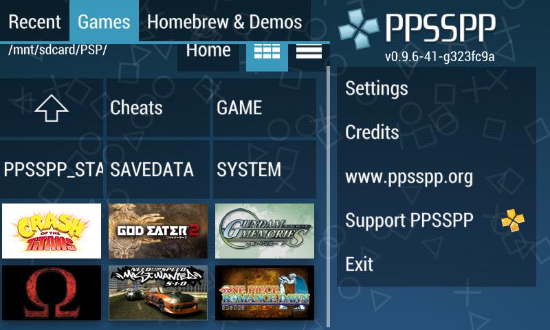 Copy Game PSP yang sudah di Download ke SD Card