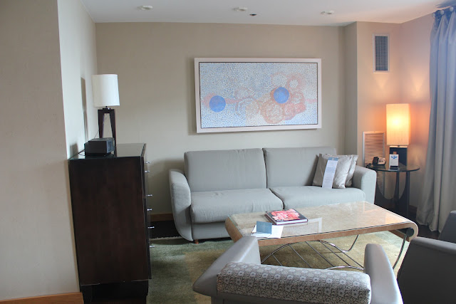 Artist Suite at the Royal Sonesta, Cambridge, Mass.