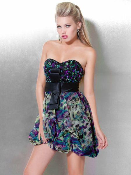 Jovani - Short Party Kleider Sammlung 2012-2