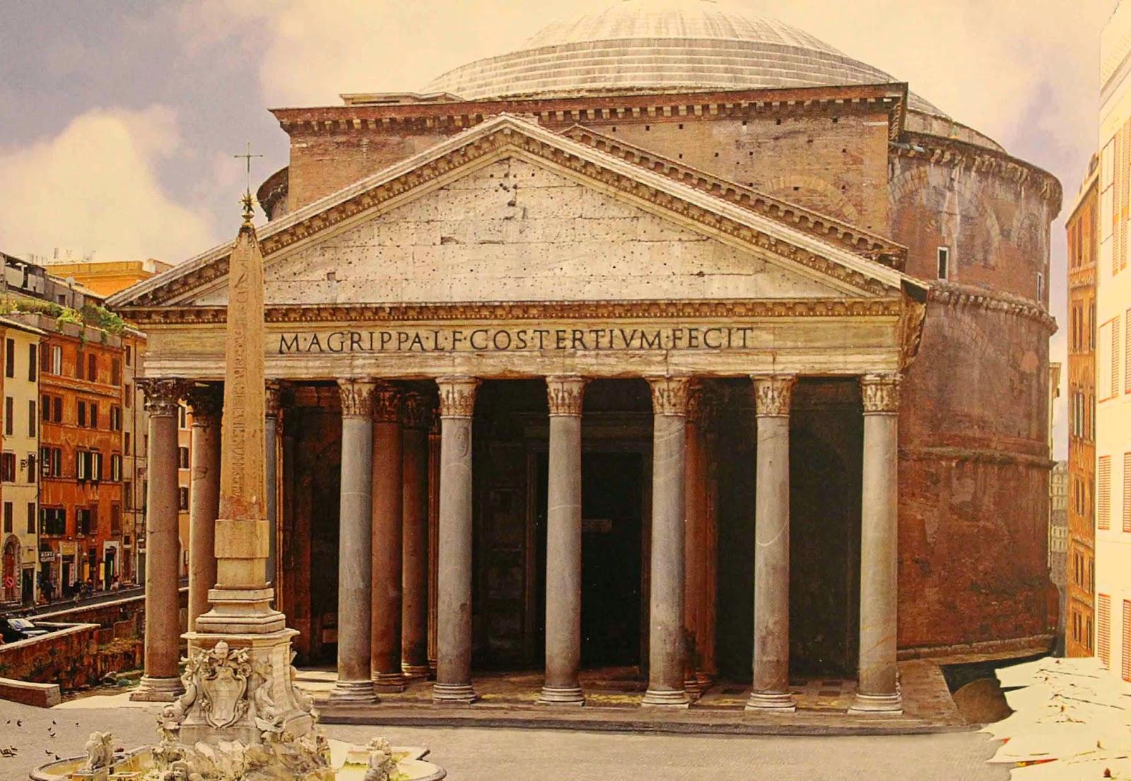 Arquitectura historia y construcci n el panteon de agripa for Inicios de la arquitectura