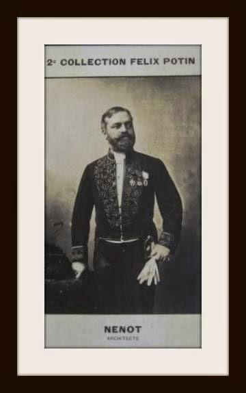 Arquitecto Henry Paul Nenot (Paris 1853 -  Paris 1934)  Ecole des Beaux Arts