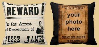 western+cowboys+throw+pillows- ...