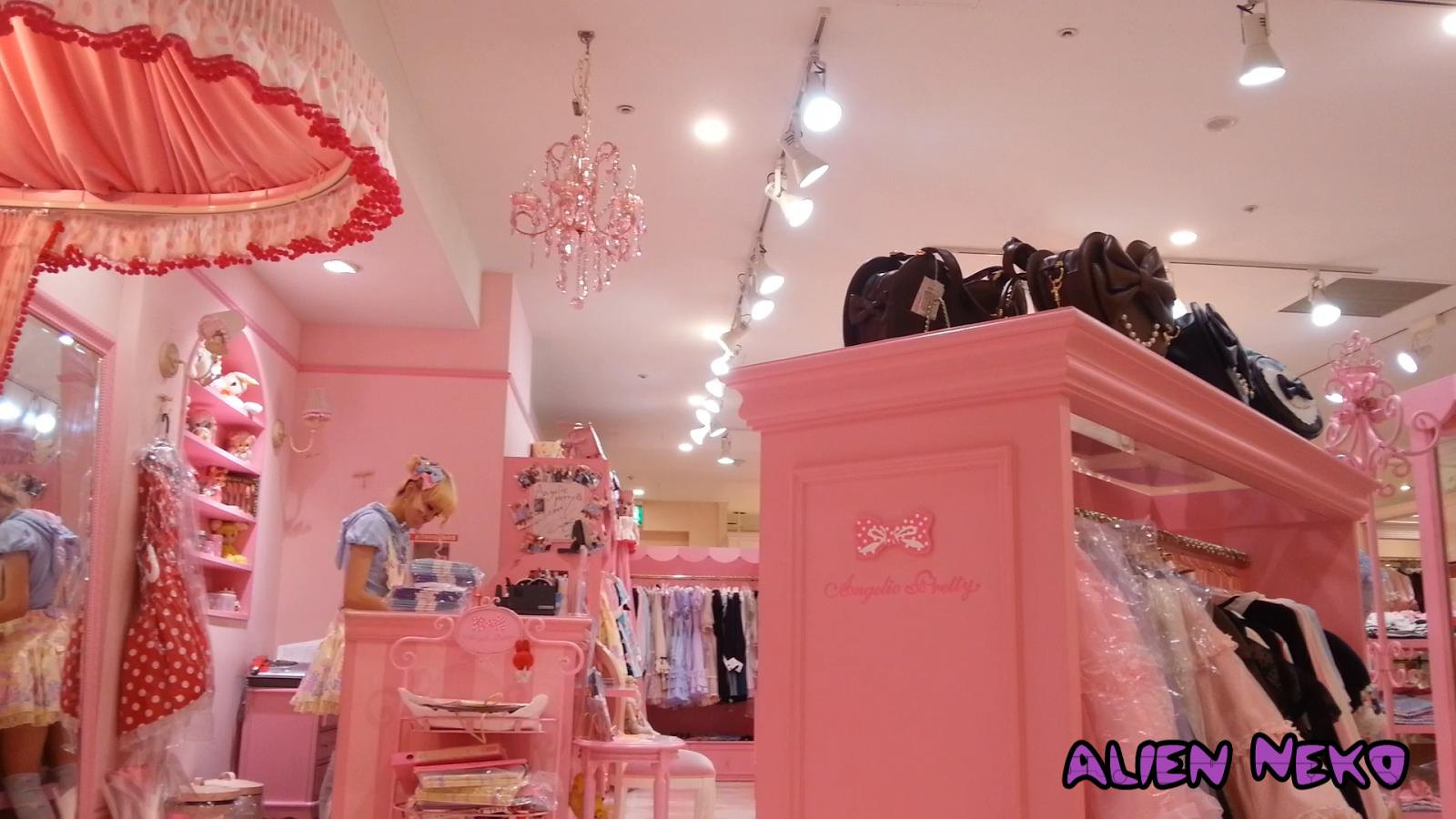 kawaii pink store