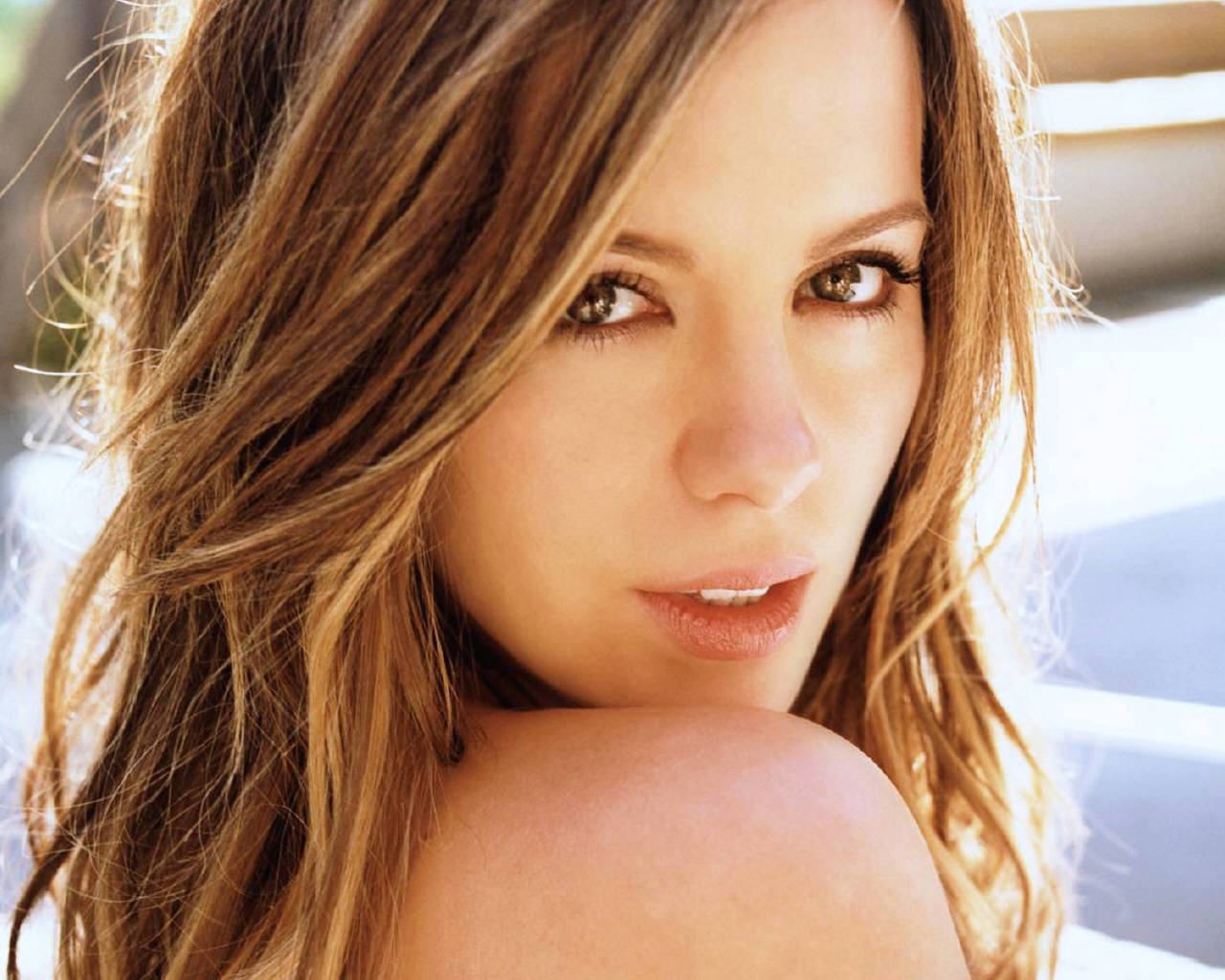 And kate beckinsale hair color really. opinion
