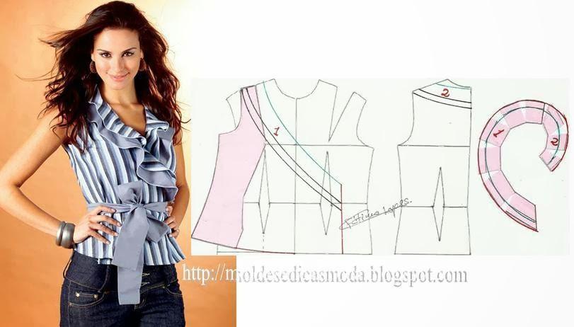 Как сшить блузку своими руками пошагово