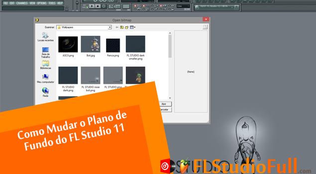 Como Mudar o Plano de Fundo do FL Studio 11