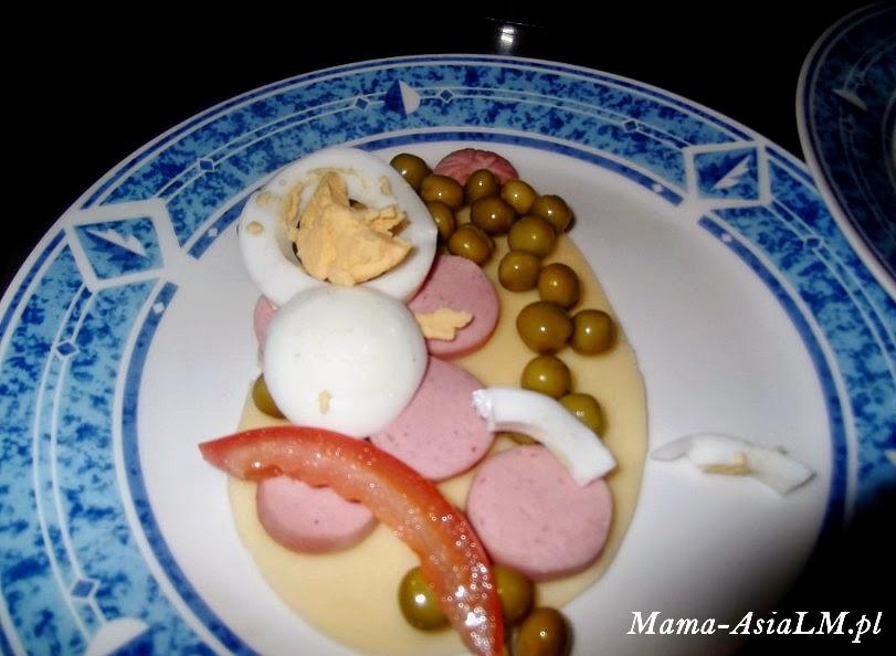 Jajko wielkanocne, czyli pomysł na śniadanie dla dziecka pisanka