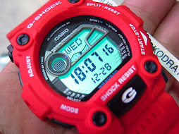 CASIO GSHOCK G-7900A-4DR RED CASE