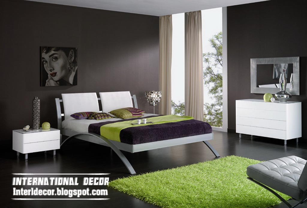 Modern Bedroom Color Ideas 1024 x 694