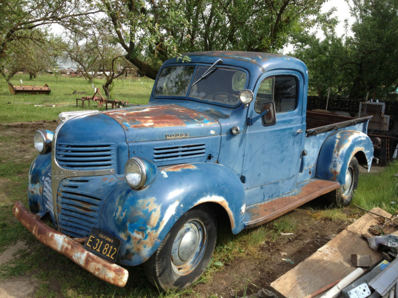 Daily Turismo: 5k Seller Sub: 1947 Dodge 1/2 Ton Pickup