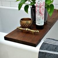 How to Make a Bathtub Tray