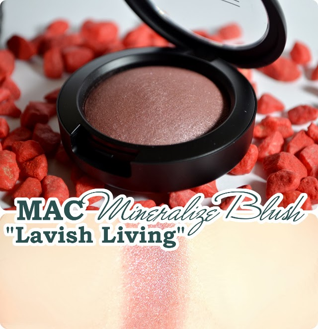 Review MAC Divine Night Holiday Collection 2013 - Mineralize Blush LAVISH LIVING