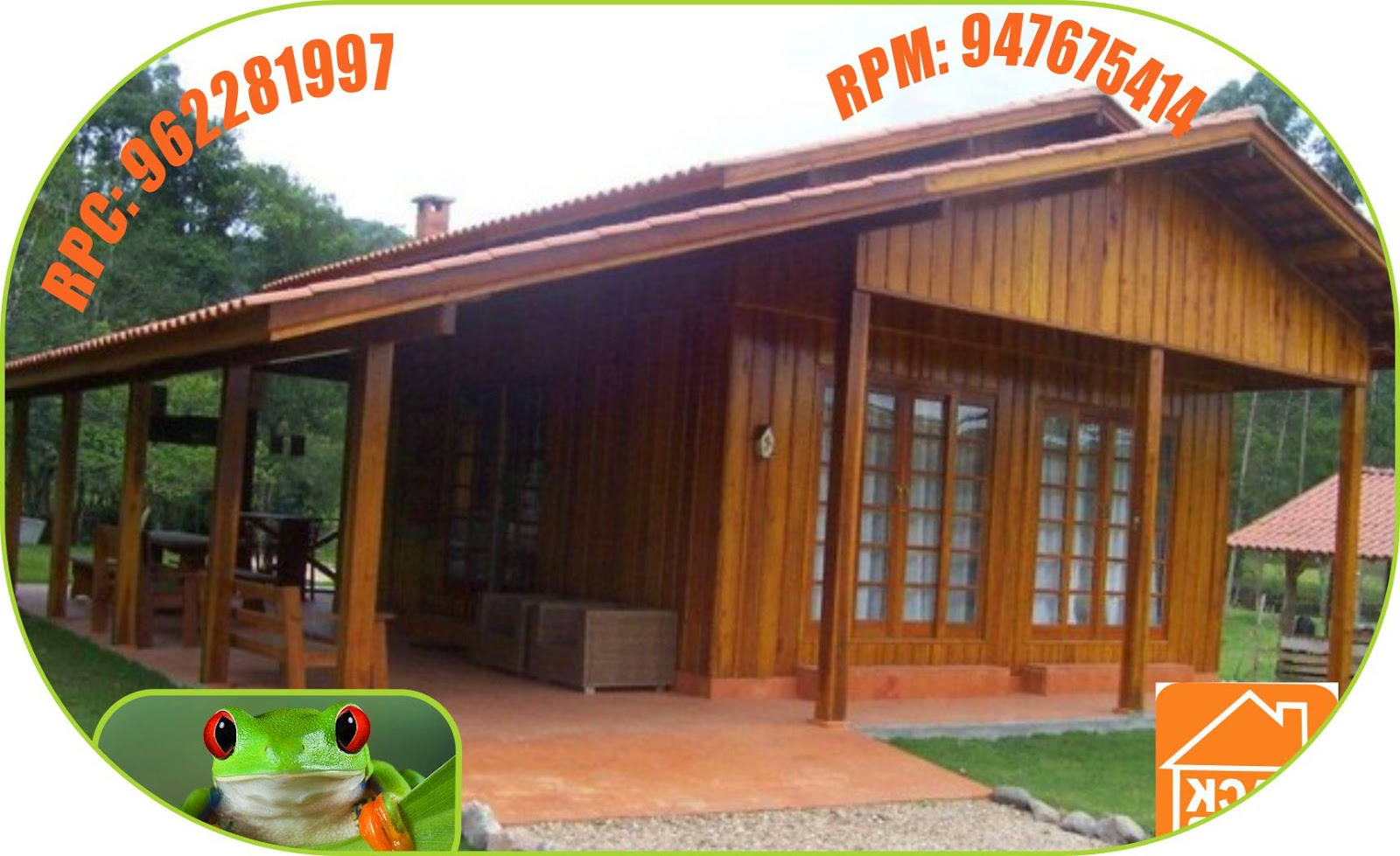 Bungalows caba as de madera para clubes campestres centros - Bungalows de madera prefabricadas precios ...