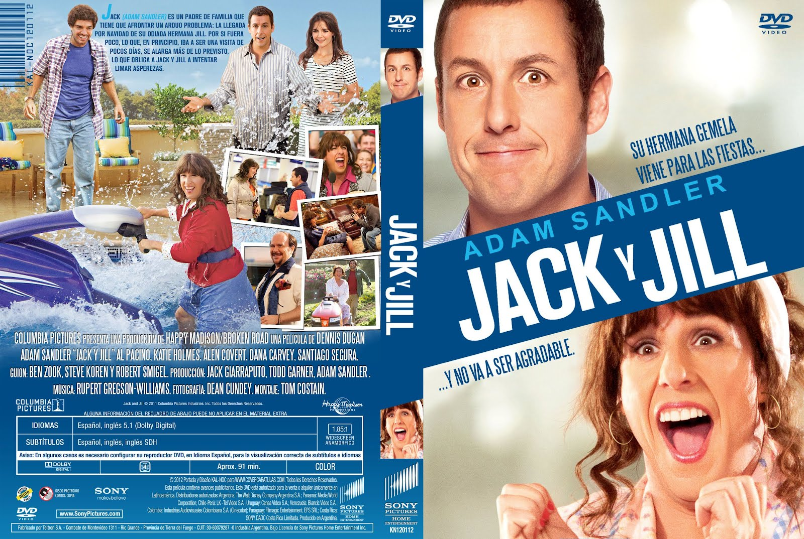 Jack and Jill (2011) [Dvdrip Latino] [Zippyshare]