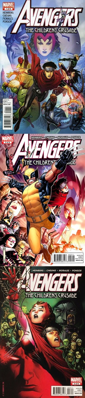 Avengers: the Children's Crusade - Allan Heinberg Jim Cheung