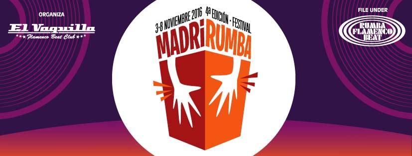 MadriRumba 2016  del 3 -8 Noviembre
