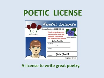 POETIC LICENSE in Placerville Sat. (1/26)