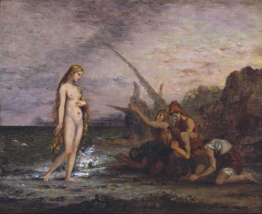 moreau birth venus paintings