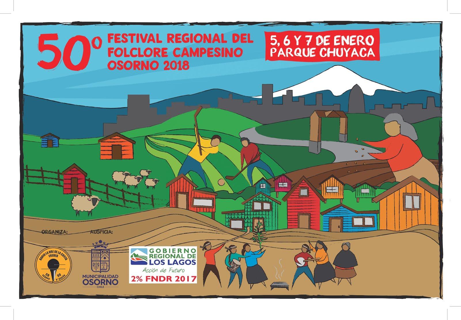 CANCIONES GANADORAS 50º FESTIVAL REGIONAL DEL FOLCLOR CAMPESINO 2018