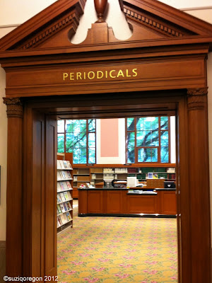 Multnomah County Central Branch Periodicals Room