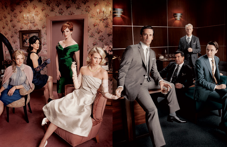 little bright world: Mad men party