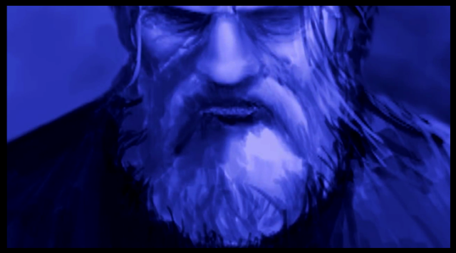 Screen Capture from Jephyr Art Video - Art 202 Pareidolia Animation / Animatic