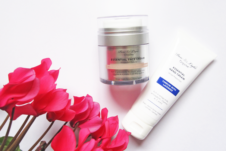 A picture of Pure & Light Organic Essential Orange Blossom and Sandalwood Face Cream & Essential Hand Cream review