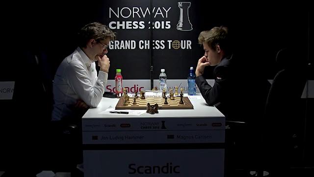 Norway Chess 2015. Hammer - Carlsen