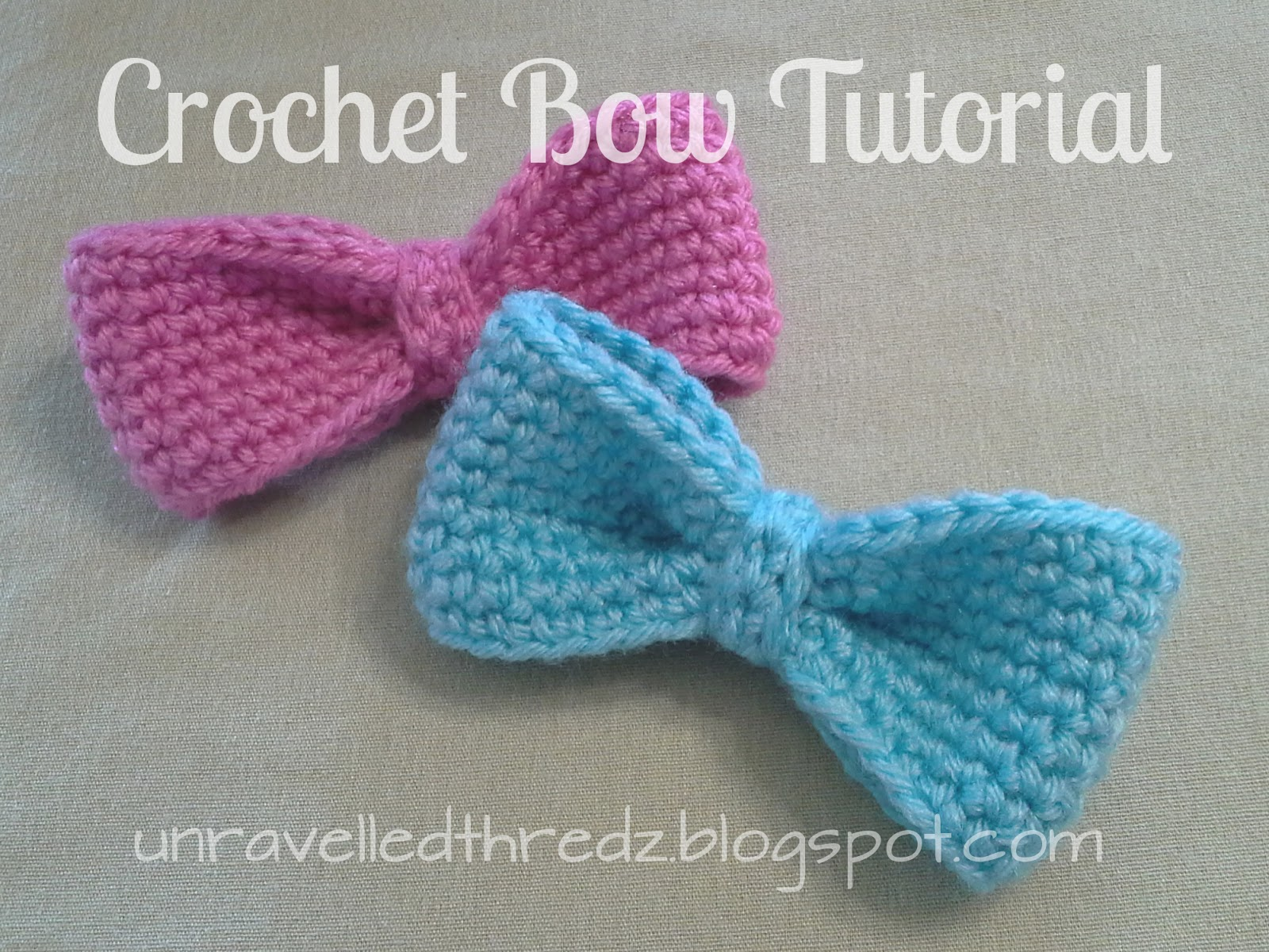 Crochet Hat Pattern With Bow : Crochet Bows Related Keywords & Suggestions - Crochet Bows ...
