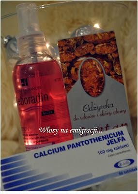 Seboradin Niger, Jantar, Calcium Pantothenicum.