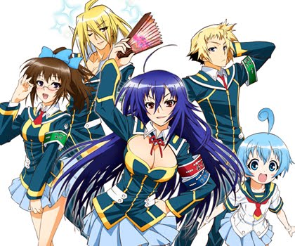Medaka Box pode ganhar segunda temporada. Medaka-Box-estreno-del-anime