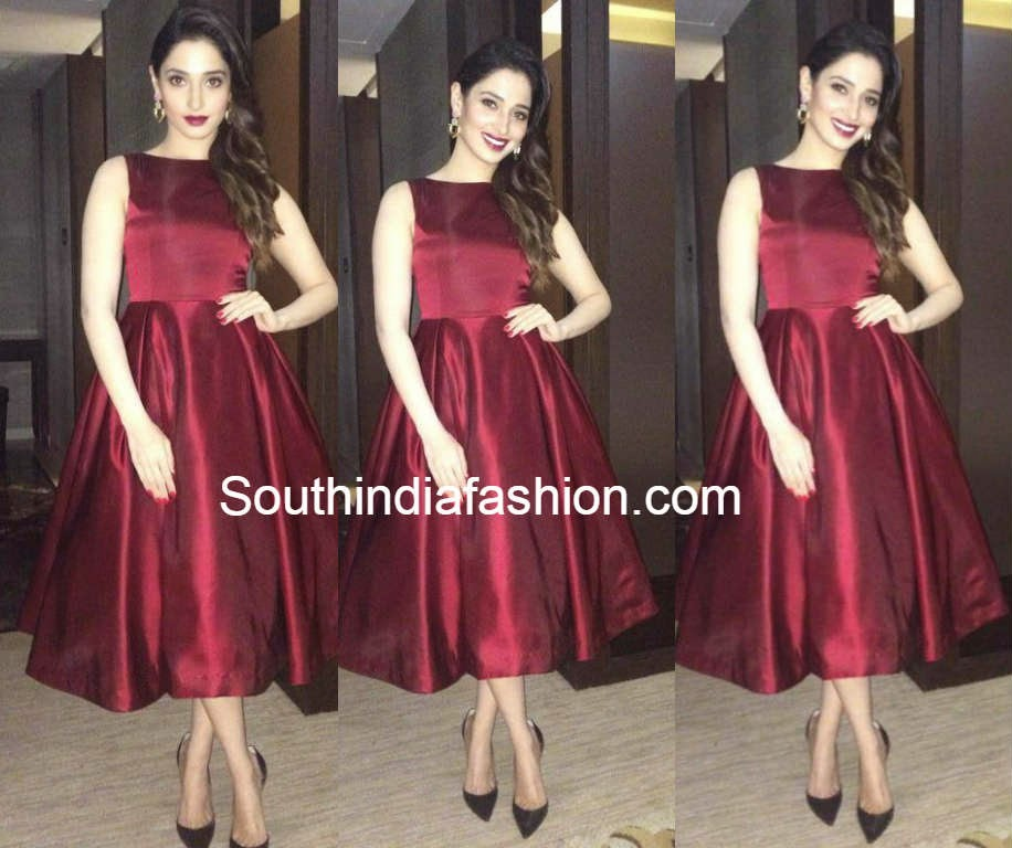 tamanna in hema kaul dress