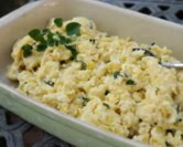 Easy Creamy Scrambled Eggs for a Crowd