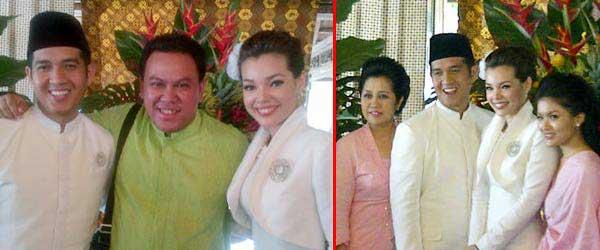 Pernikahan Dewi Sandra-Agus Rahman