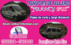 """TRANSPORTE DE PASAJEROS """"FRANCY BUS"""""""