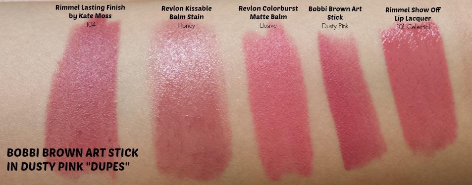 Bobbi Brown Pink Mauve Lipstick photos