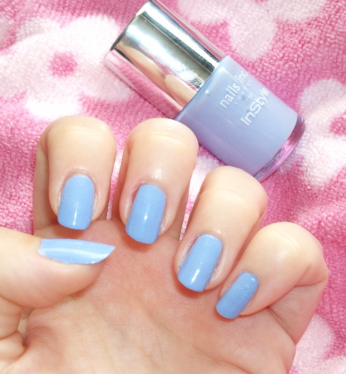 Amelia\'s Allsorts: Nails Inc Bluebell Nail Polish (Free with InStyle ...