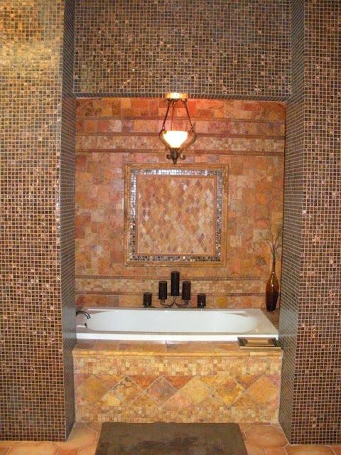 RUSTIC TUSCAN MASTER BATHROOM