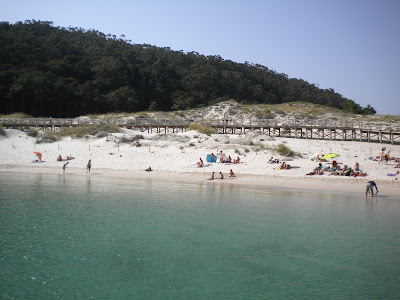 Rodas, Islas Cíes, julio 2012