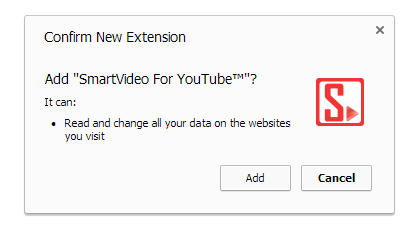 SmartVideo For YouTube Google Chrome  add