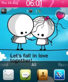 mybbcurve9300, tema blackberry fall in love